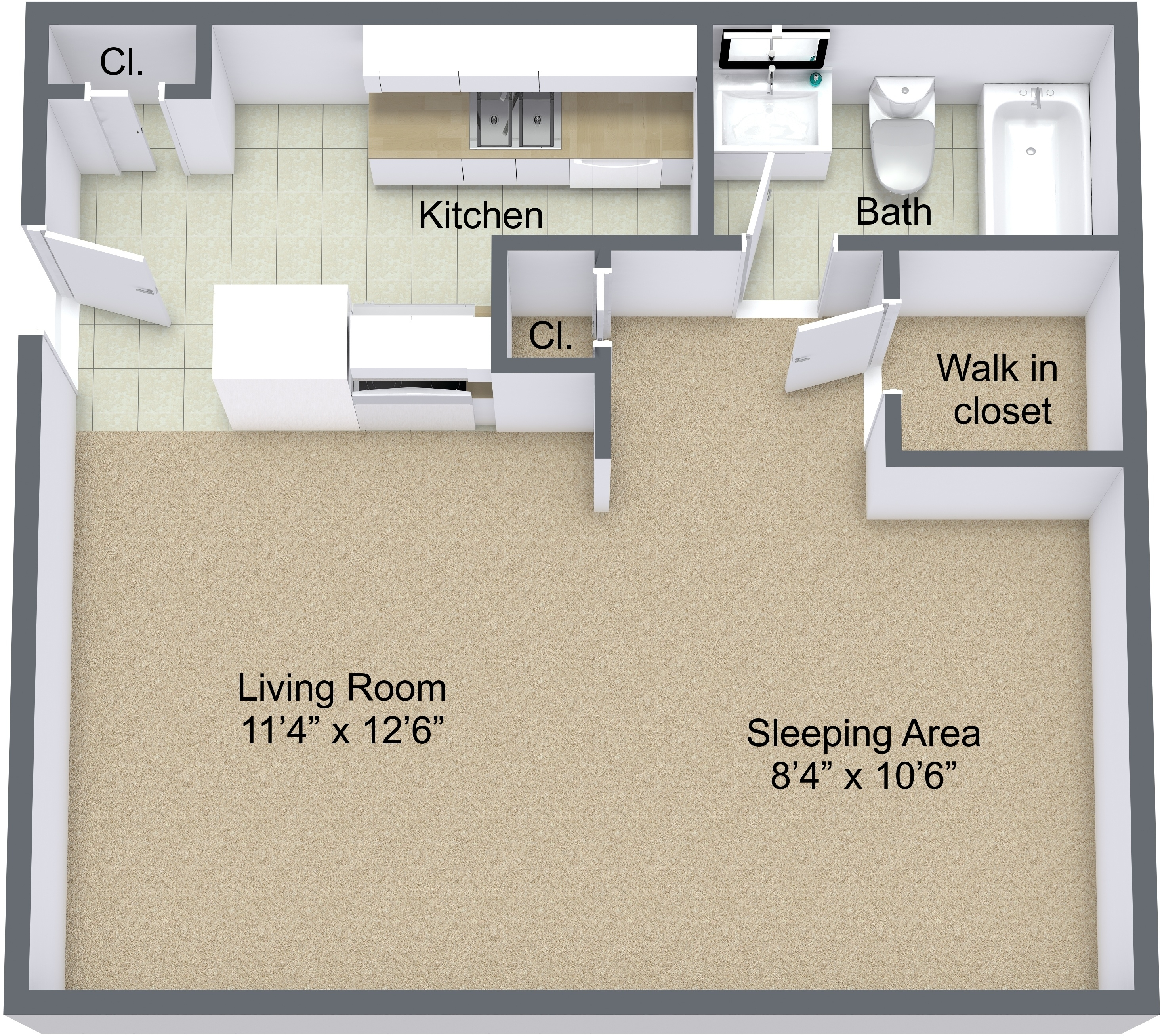 Andover Park Apartments Greenville Sc