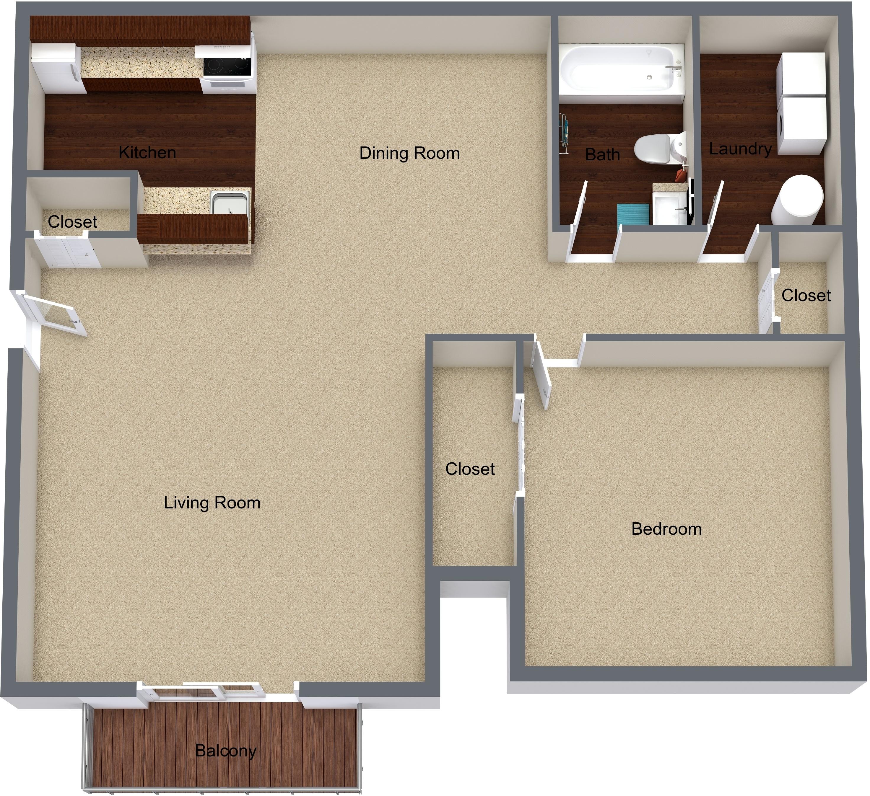 Princeton Court Apartments: Chestnut Court Apartments