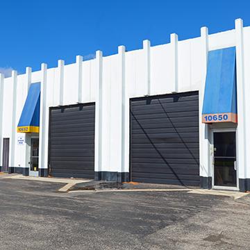 Royal Industrial Center Facade