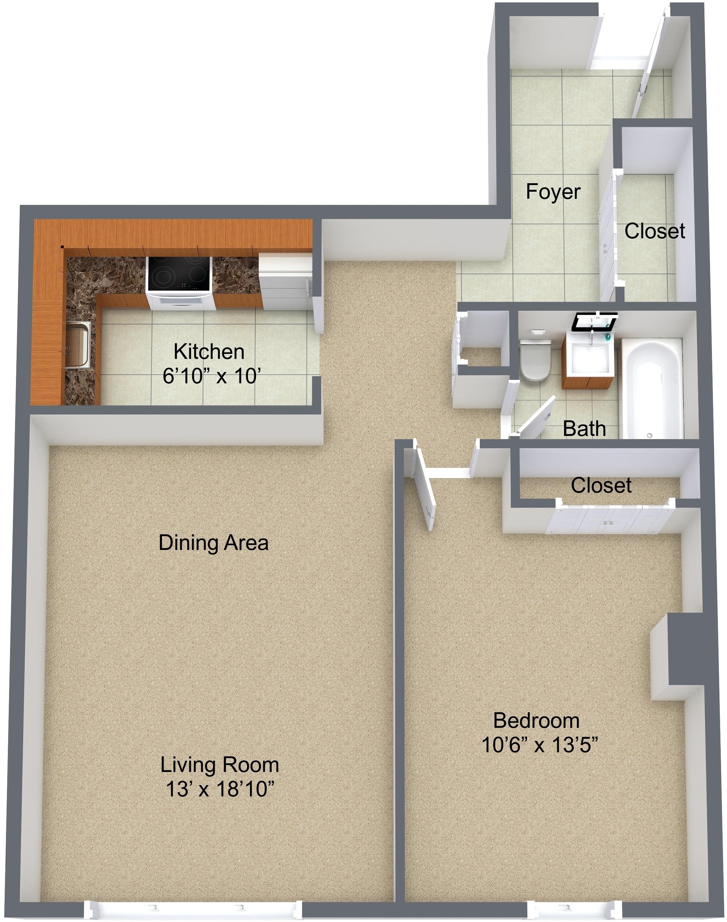 One Bedroom