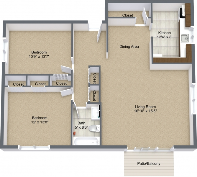 Two Bedroom Deluxe View I